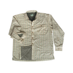 Hoggs Of Fife Birch Micro-Fleece Lined Checked Shirt