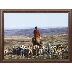 Country Matters Lap Serving Tray - Hounds & Master