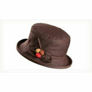 Olney BERRY BROWN Wax & Berry Hat