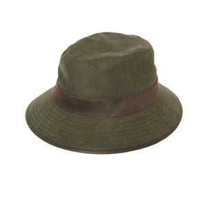 Hoggs Of Fife Ranger Fleece-Lined Waterproof Hat - Dark Green