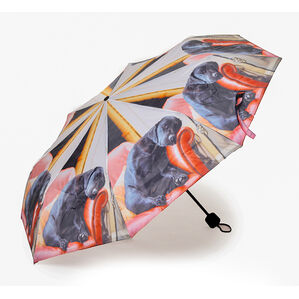 Country Matters Sleeping Lab Mini Folding Umbrella