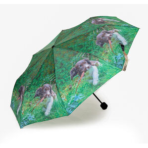 Country Matters Up to Mischief Mini Folding Umbrella