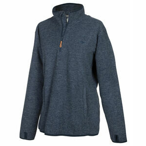 Hoggs Of Fife Ladies Woburn All Season Pullover - Marled Blue