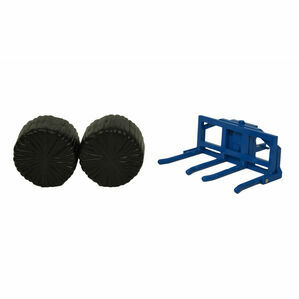 Britains Double Round Bale Lifter 43141