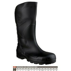 Dunlop DU DEVON BLACK H142011 Safety wellington boots