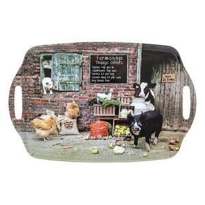 Country Matters Raid On The Farm Shop - Serving Tray