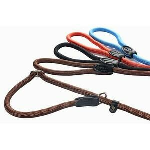 Rubber Handled, Slip Lead with Figure 8 Training Aid 150cm x 10mm