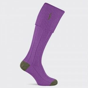 Pennine Imperial Shooting Sock - Mauve