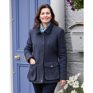 Hoggs of Fife Wycombe Ladies Shetland Wool Field Coat