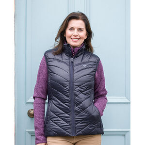 Hoggs of Fife Millie Ladies Soft Padded Gilet