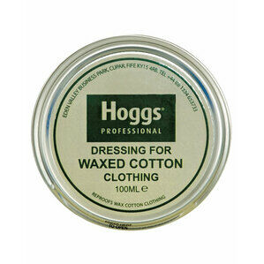 Hoggs of Fife Dressing for Waxed Cotton Clothing TIN 100ml
