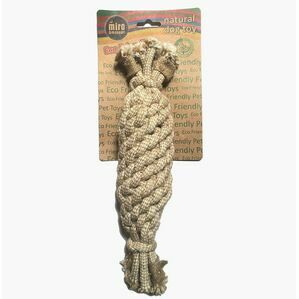 Jute Rope Crinkler Bottle Toy