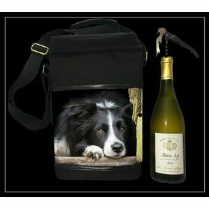 Collie Wine Cool Bag Country Matters