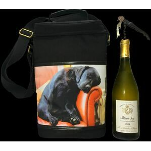 Sleeping Lab Wine Cool Bag Country Matters
