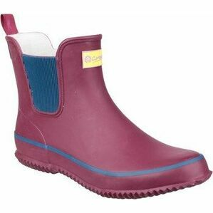 Cotswold Ladies Bushy Wine Short Wellies