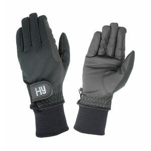 HY5 Black Ultra Warm Softshell Gloves