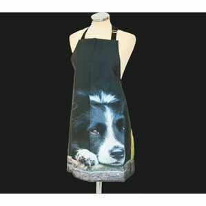 Collie Dog Apron From Country Matters