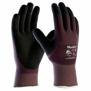 Maxidry Protective Grip Gloves Fully Coated To Cuff
