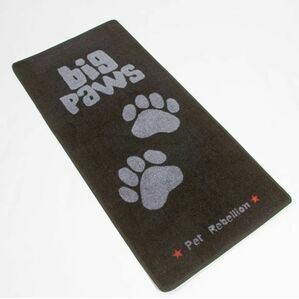 Big Paws Extra Large Dog Mat For Home From Pet Rebellion