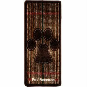 'Stop Muddy Paws' Home Dog Mat - Berkshire Tweed