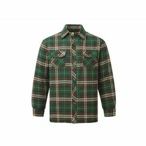 Castle Neath Padded Shirt Green