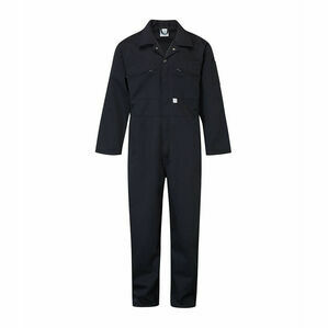 Blue Castle Zip Boiler Suit - White 366/1 WHITE