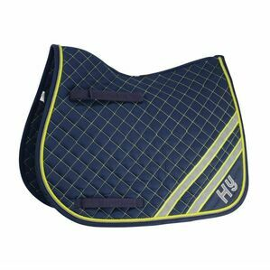 HYWITHER PONY YELLOW/SILVER REFLECTOR SADDLE PAD 14185