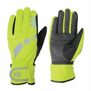 HY5 YELL/BLK REFLECTIVE W/P MULTIPURPOSE GLOVES
