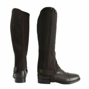 HYLAND CHILDS BLK SYNTHETIC NUBUCK CHAPS