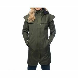 Outrider 3/4 Length Waterproof Raincoat Target Dry 968 - Fern Green