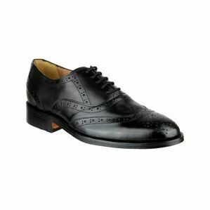 Ben Leather Soled Shoe in Black