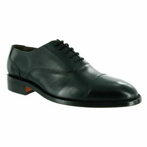 James Leather Soled Shoe in Black