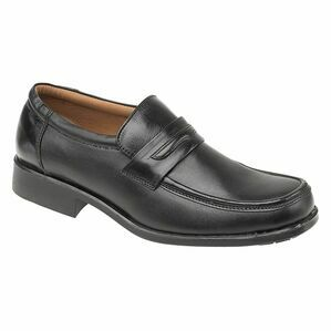 Manchester Leather Loafer in Black