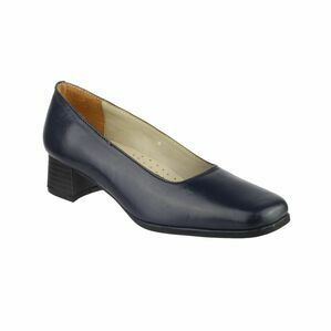 Walford Ladies Leather Court in Navy