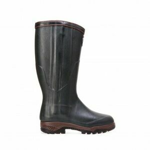Aigle Parcours 2 Iso Open Wellington Boots - Bronze (Dark Green)