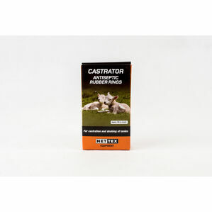 Nettex Castration Rings - 100 & 500 Ring Packs