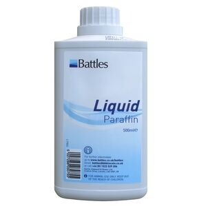 Battles Liquid Paraffin B.P. For Horses - 500ml