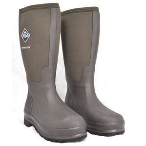 Chore Cool Hi Classic Muck Work Wellington Boots - Brown