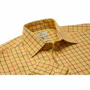 Hoggs Of Fife Governor Premier Tattersall Shirt