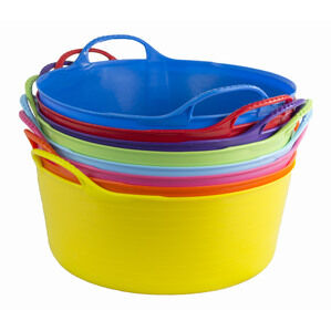 Genuine Flexible Shallow Tubtrug 15L Horse Feeding  - Various Colours