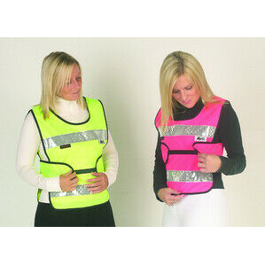 HyViz Reflective Adjustable Tabard Yellow And Navy