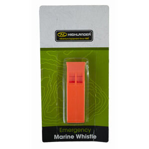 Highlander Emergency Marine Whistle - Orange
