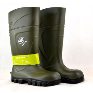 Steplite X Green Wellington Boots