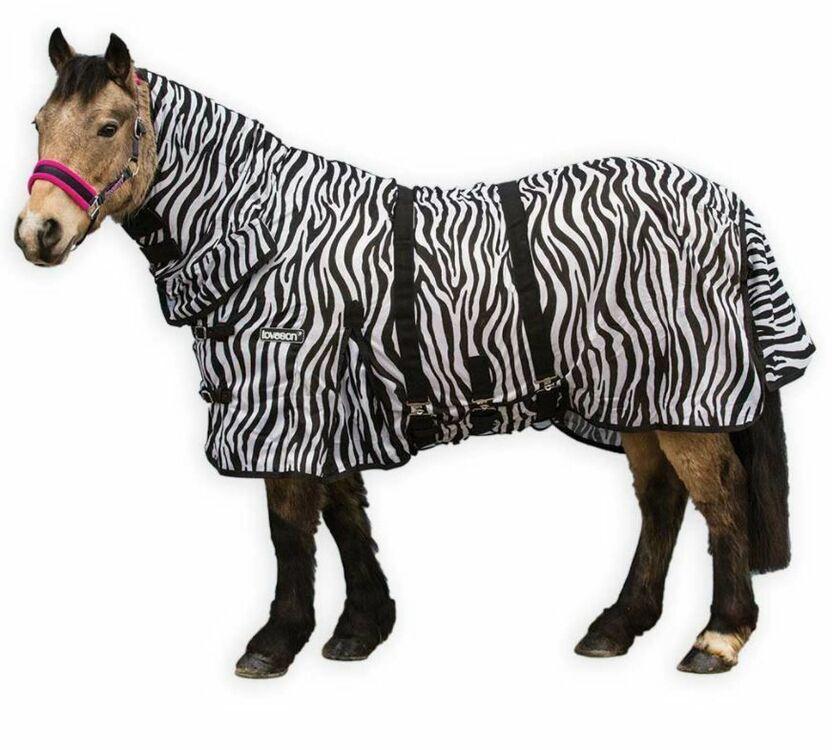 Loveson Zebra Fly Rug From £29.16