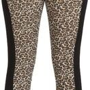 HyPerformance Alyssa Ladies Jodhpurs Black/Leopard Print additional 1