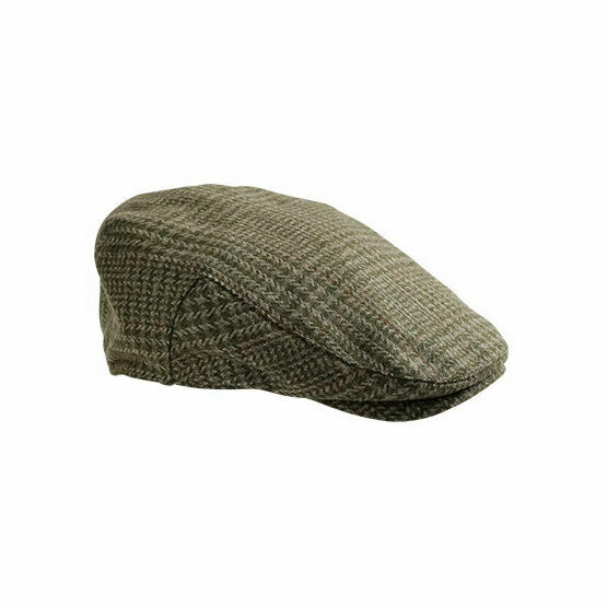 Hoggs of Fife Invergarry Tweed Waterproof Shooting Flat Cap