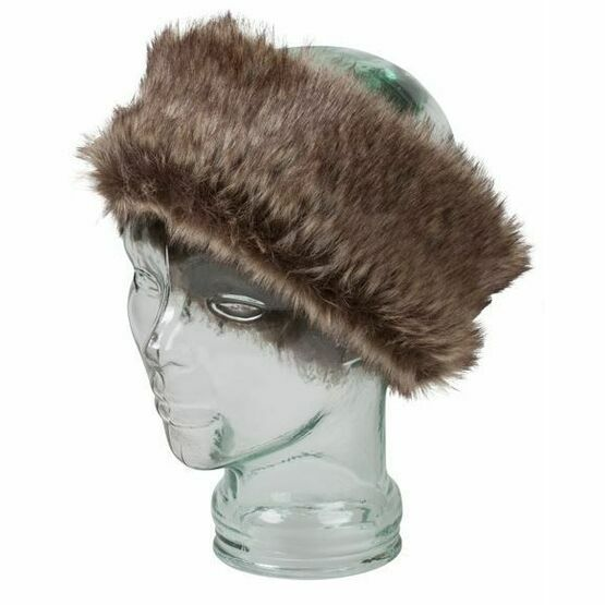 Hoggs Albany Ladies Faux Fur/Lambswool Headband