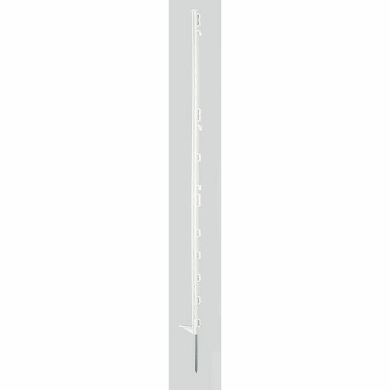 Hotline Electric Fencing White Posts - 20 Pack