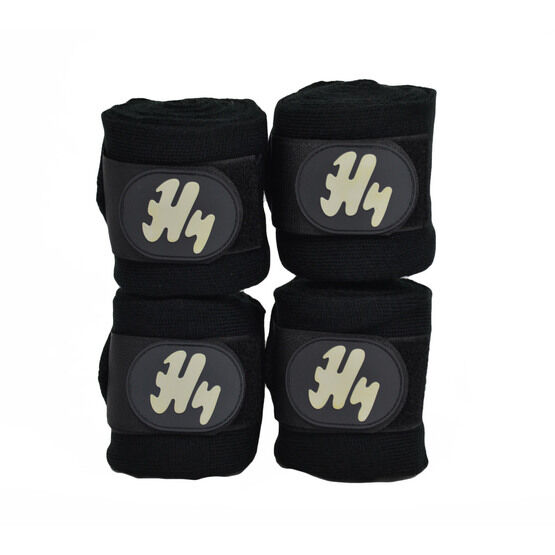 Hy Stable Bandage Pack of 4 - Black