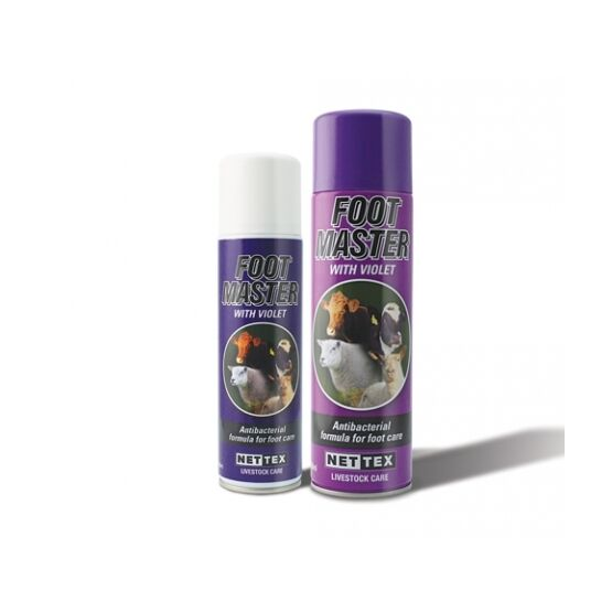 Net-Tex Footmaster Hoof Spray With Violet Aerosol - 500ml